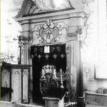 Alte Synagoge Muehlhausen. Historisches Foto von Theodor Harburger, 11.06.1929