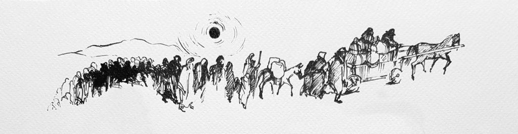 I. Gerschmann, Exodus, fragment